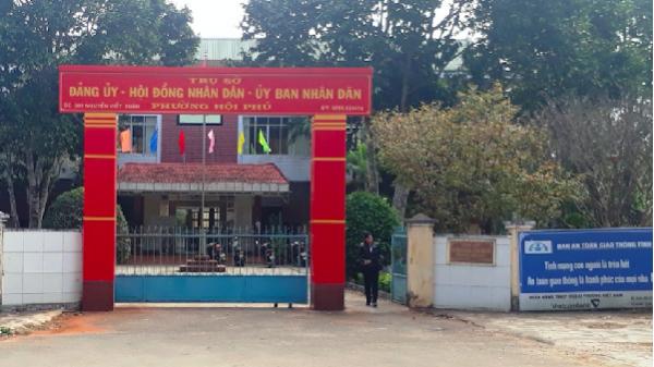 TP. Pleiku: Trộm táo tợn đột nhập vào trụ sở phường phá 3 két sắt