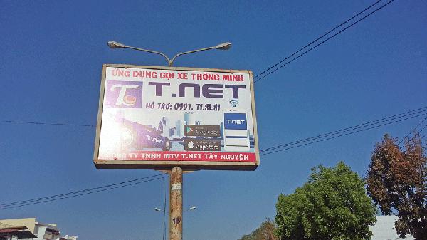 Taxi trá hình ở Pleiku