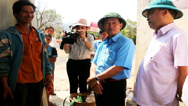 Gia Lai: Niềm vui có nước sạch sinh hoạt của dân làng vùng khó khăn