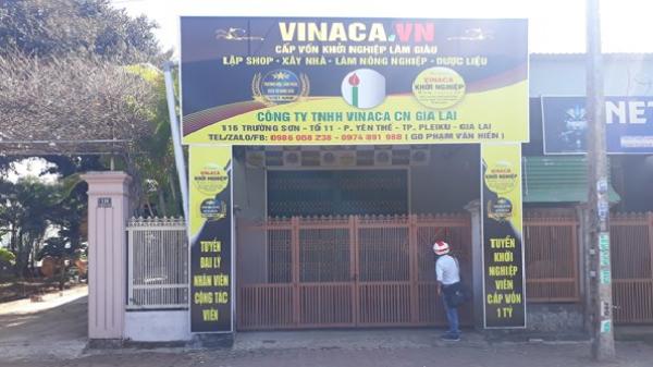 Công ty chế sản phẩm chữa ung thư từ than tre Vinaca mở 2 chi nhánh trái phép ở Gia Lai