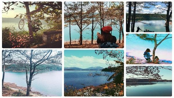 Ngắm vẻ thơ mộng của hồ nước đẹp bậc nhất mảnh đất Gia Lai