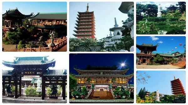 Nếu có về Gia Lai, nhớ ghé thăm ngôi chùa Minh Thành đẹp tựa xứ sở hoa anh đào Nhật Bản