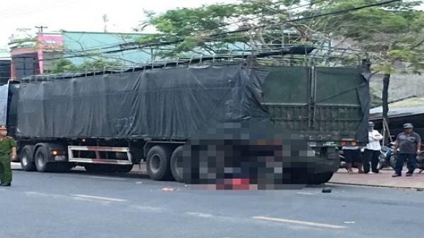 Gia Lai: Va chạm xe container, người đàn ông tử vong tại chỗ
