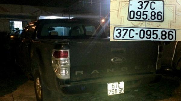 """Gia Lai: Tạm giữ xe của hai """"cha con nhà báo"""" dùng biển số giả"""