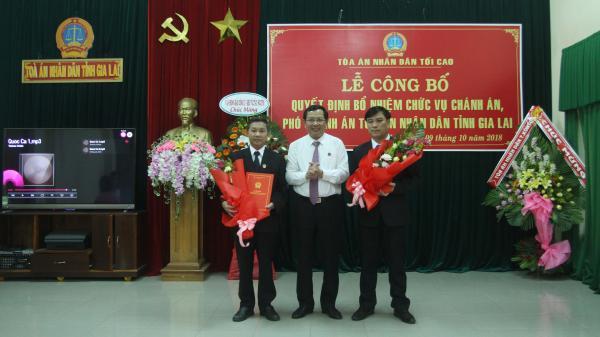 Ông Phạm Duy Lam được bổ nhiệm làm Chánh án TAND tỉnh Gia Lai