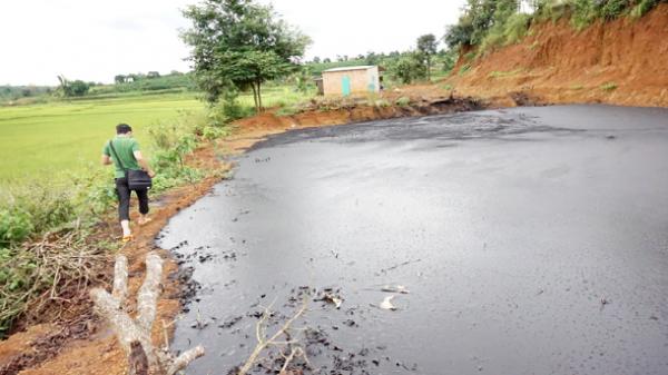 Gia Lai: DN cho dân chất thải về làm… phân bón