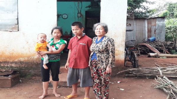 Xót xa gia đình có 4 người mắc bệnh hiểm nghèo