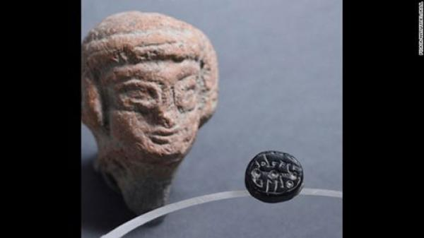 Phát hiện con dấu 2.500 tuổi thuộc về phụ nữ