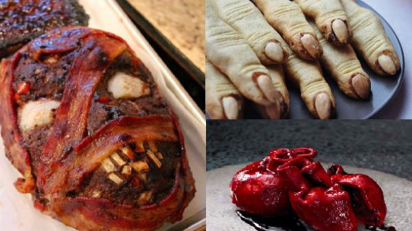 Những món ăn dịp Halloween chỉ nhìn thôi đã sợ... 'chạy mất dép'
