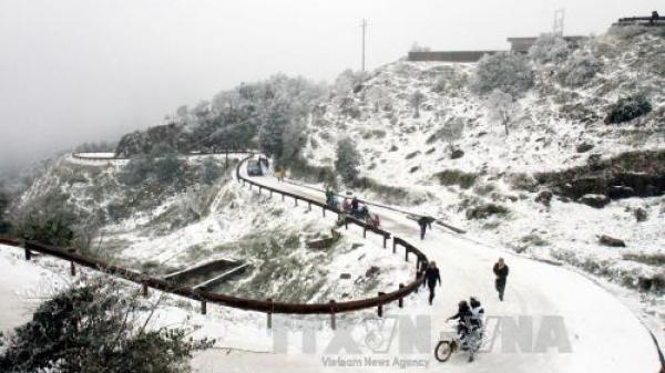 Cuối tuần này, đến với Hà Giang bạn sẽ có cơ hội chạm tay vào băng tuyết