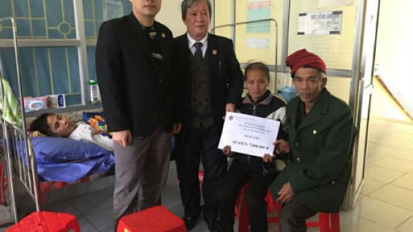 Nam sinh bị ô tô cán cụt chân trên đường đi thực tập ở Hà Giang