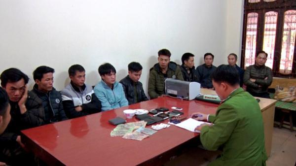 Hà Giang: Bắt giữ hàng chục đối tượng đánh bạc tại Vị Xuyên