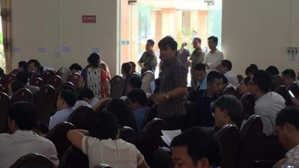 Thanh Hóa: Phóng viên Báo Nhà báo & Công luận bị đe dọa trong khi tác nghiệp