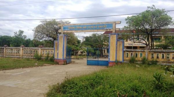 Vụ cô giáo bị nam thanh niên hiế.p dâm tại trường: Hiệu trưởng nhà trường chính thức lên tiếng