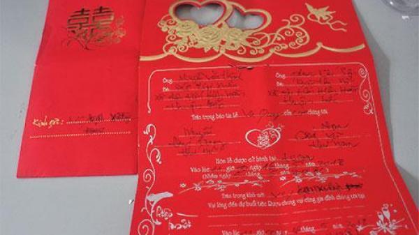 Cảnh giác trước chiêu trò lừa đảo mới bằng thiệp cưới