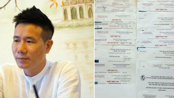 Chân dung thí sinh đặc biệt nhất Việt Nam: Đi thi ĐH 18 lần vì lời hứa với người yêu cũ