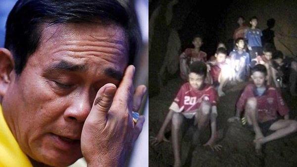 Thủ tướng của đất nước đã khóc: 'Cứu được mấy đứa nhỏ còn vui hơn cả Thái Lan vô địch World Cup'