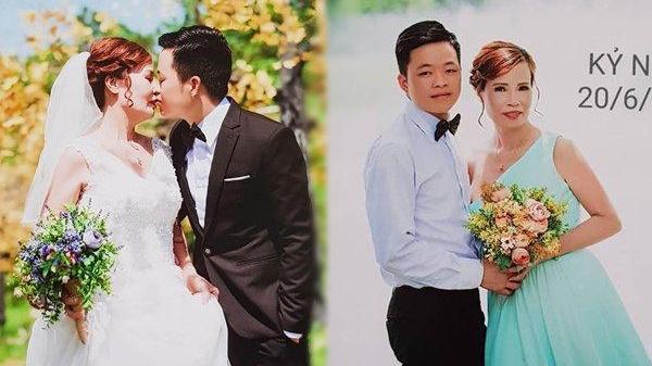 Công bố ảnh cưới của cặp đôi chàng 26 – nàng 62 ở, đến Ngọc Trinh – Hoàng Kiều còn kém xa