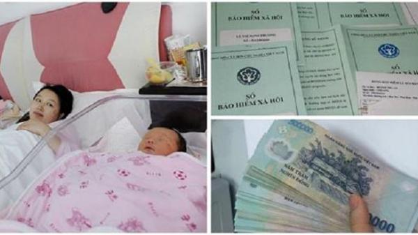 Tin vui cho mẹ bầu: Từ 1/7/2018 trợ cấp THAI SẢN tăng lên 2.780.000 đồng. Các chị em LƯU Ý để nhận tiền nha