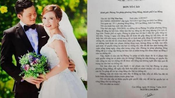 Biến căng: Cô dâu 62 tuổi lấy trai trẻ 26 kiện cán bộ phòng Tư Pháp Cao Bằng vì tung ảnh lên mạng