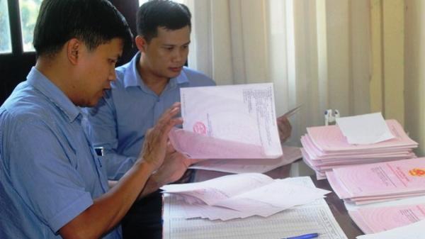 Hậu Giang: Trên 2.500 phôi giấy chứng nhận quyền sử dụng đất bị hỏng