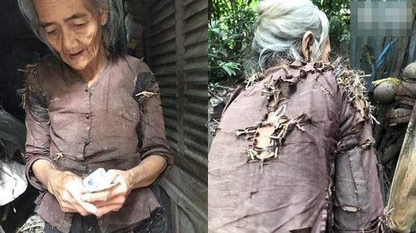 Sự thật về cụ bà 76 tuổi vá áo bằng rơm sống nhờ vườn hàng xóm gây xôn xao