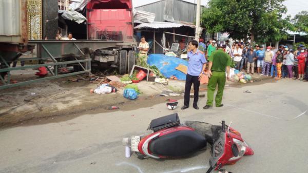 Tai nạn kinh hoàng ở miền Tây: Xe container đâm vào nhà dân làm 6 người thương vong