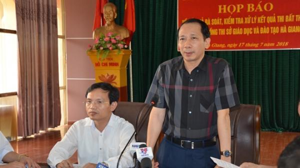 Gian lận thi THPT quốc gia ở Hà Giang: Tiết lộ gây sốc từ người trong cuộc