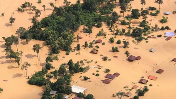 Bao giờ nước từ vụ vỡ đập thủy điện Lào về tới Việt Nam?