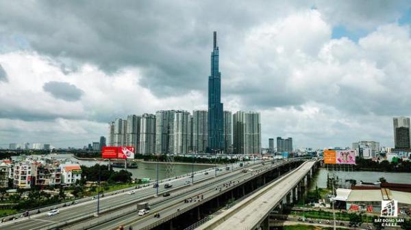 Cận cảnh tòa nhà cao nhất ở Việt Nam chuẩn bị khai trương trung tâm thương mại Vincom Center Landmark 81