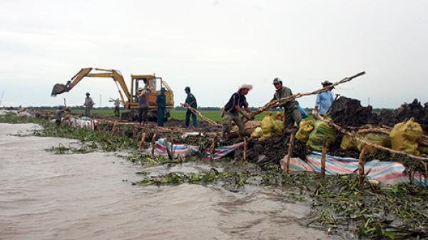 CẢNH BÁO: Các tỉnh miền Tây đề phòng lũ lớn từ Lào đổ về