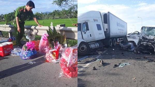 Tang thương: Chú rể cùng 12 người nhà trai chết tại chỗ vì đâm thẳng container trên đường đón dâu