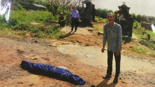 Chồng sát hại vợ dã man rồi mang thi thể ra nghĩa địa đốt xác phi tang