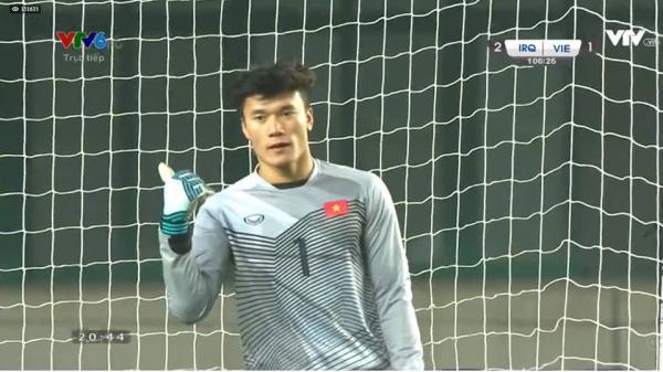 Hí họa Bùi Tiến Dũng khóc trước tài năng bay nhảy của Văn Lâm ở U23 VN