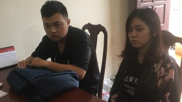 Nữ sinh viên cùng người tình vác dao cướp shop quần áo