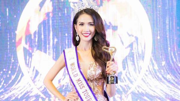 Người đẹp miền Tây 7 lần thi nhan sắc vừa đăng quang Hoa hậu Đại sứ Du lịch thế giới 2018 là ai?