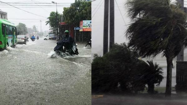 BÁO ĐỘNG: Đêm nay bão vào tỉnh Thái Bình và nhiều tỉnh thành đã cấm biển, sơ tán dân