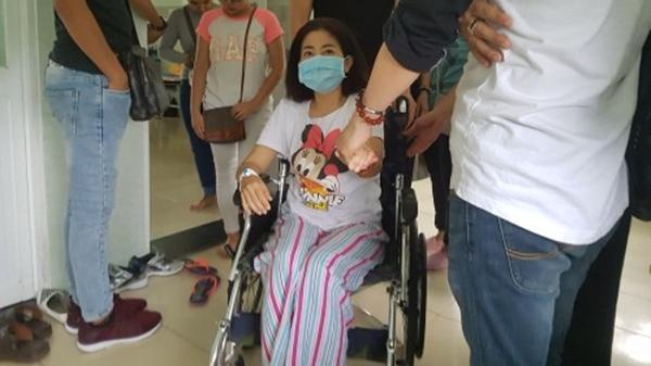 Nữ diễn viên Mai Phương đã bắt đầu bước vào quá trình xạ trị