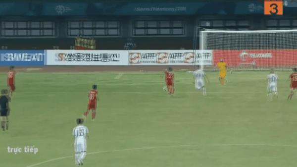 Cận cảnh bàn thắng VÀNG của Văn Toàn đưa Việt Nam giành vé vào bán kết ASIAD 2018