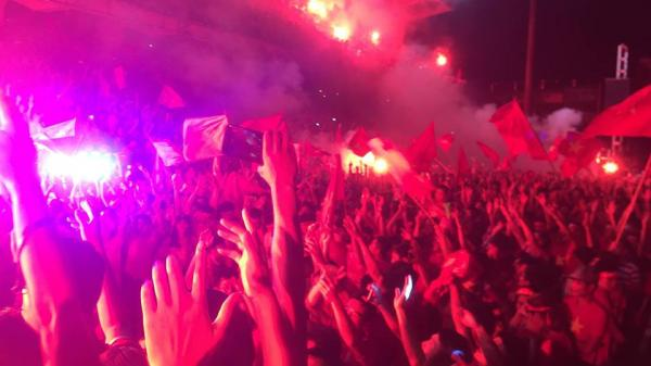 Cả nước vỡ òa ăn mừng chiến thắng của U23 Việt Nam trước Syria
