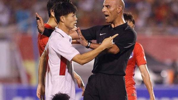 Bất ngờ với vị trọng tài bắt chính trận đấu Việt Nam- Hàn Quốc