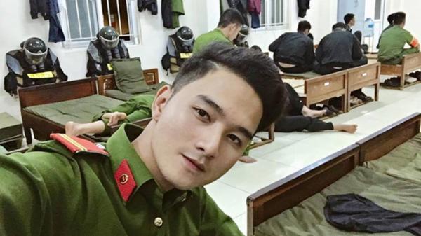 Chàng cảnh sát cơ động Đắk Lắk cao 1,8m muốn kết nhiều bạn trên mạng xã hội