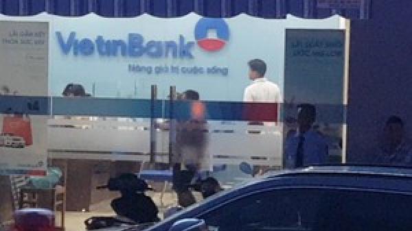 BIẾN CĂNG: Ngân hàng VietinBank Châu Thành ở miền Tây bị cướp