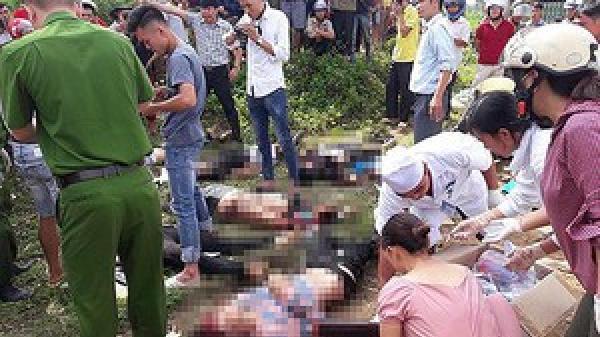 Vụ tai nạn 13 người c.hết: Về giỗ chồng, 4 người trong gia đình gặp tai nạn thảm khốc