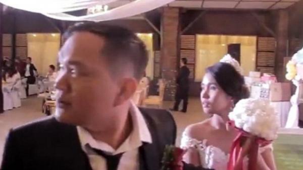 Cặp đôi đang chuẩn bị trao nhẫn thì siêu bão Mangkhut càn qua, ngày vui bỗng chốc thành thảm họa