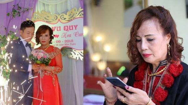"""Cô dâu 61 tuổi lên tiếng khi bị người gây rối đám cưới """"tố"""" không dám mời con gái, ăn ở thất đức"""