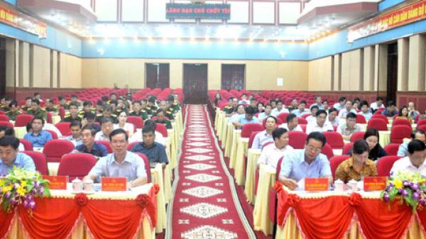Hội nghị cập nhật, bồi dưỡng kiến thức Quốc phòng- An ninh cho cán bộ lãnh đạo chủ chốt của tỉnh