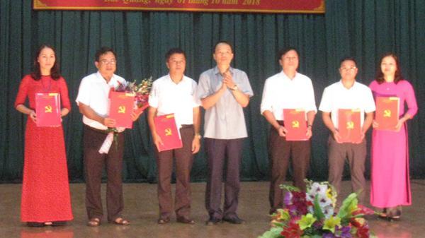 Huyện ủy Bắc Quang và Thành ủy Hà Giang Công bố Quyết định thí điểm hợp nhất tổ chức bộ máy