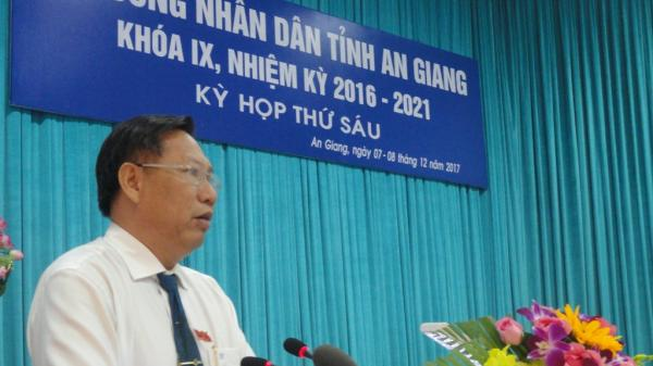 Phê chuẩn chức vụ Phó Chủ tịch UBND tỉnh An Giang