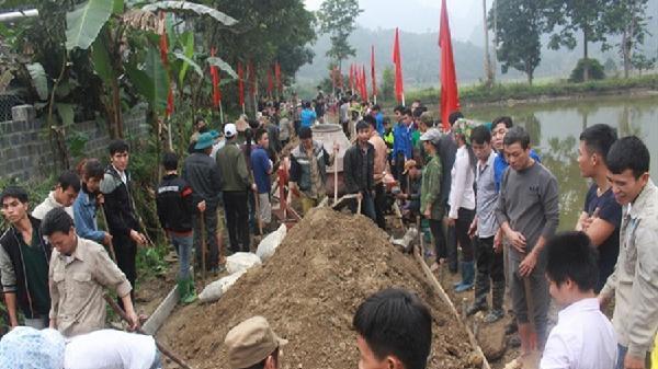 Linh Hồ đón nhận xã đạt chuẩn Nông thôn mới